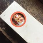 Butterfly Porthole, Kaleidoscope from Japan, circa 1970.