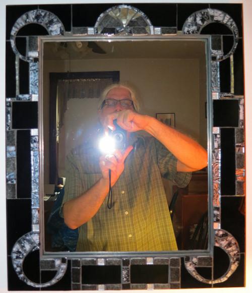 Art Deco Mirror by Nutmeg Designs