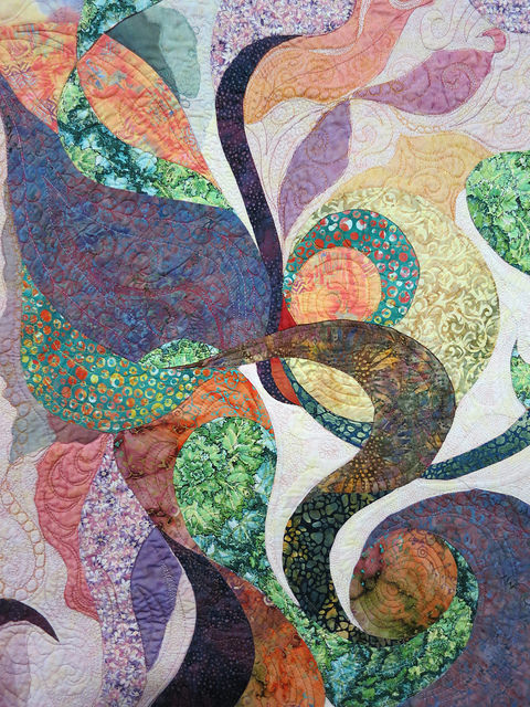 Free Form 2 Quilt ©Sherry Pryor