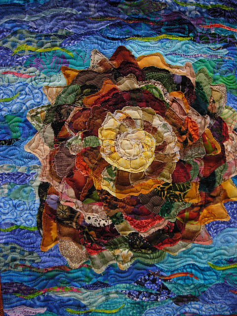 For Roger: Quilt by Julie LaRiviere
