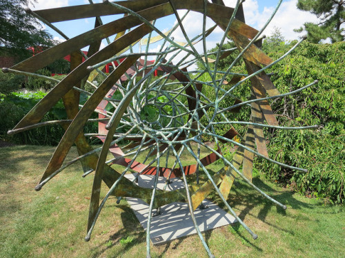 Urchin Bronze Sculpture by Howard Kalish