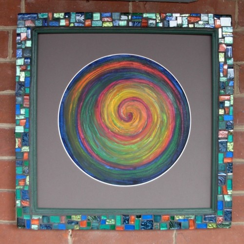 Life Spiral Mandala by Suzanne Halstead.