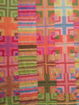 Color and Quilts at the Michener with Kaffe Fassett Blanket Statements