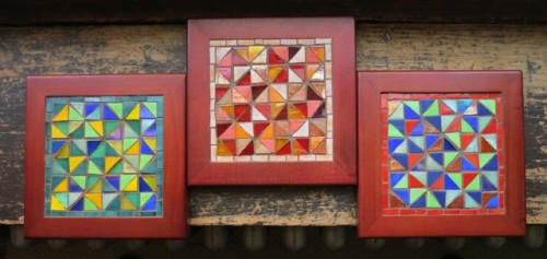 Quilt Block Trivets by Margaret Almon