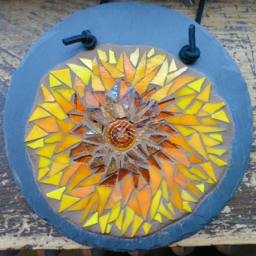 Sunflower Mandala by Margaret Almon