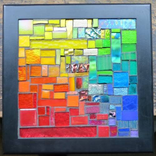 Rainbow Squared by Margaret Almo