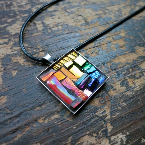 ROYGBIV Pendant by Margaret Almon