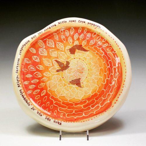 Ruchi Gupta. Birds at Noon Ceramics.