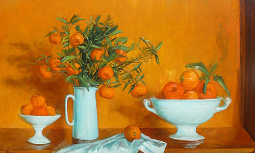 Margaret Olley Still Life with Mandarins