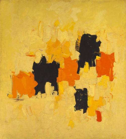 Radiante 1967 by Olga Albizu Born: Ponce, Puerto Rico 1924. Died: New York, New York 2005 oil on canvas 68 x 62 in. (172.7 x 157.5 cm) Smithsonian American Art Museum