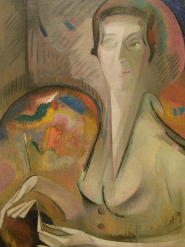 Alice Bailly Self Portrait