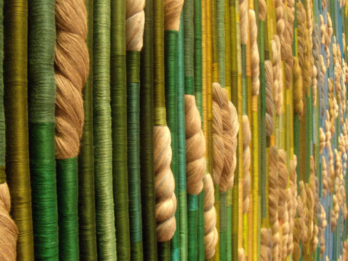 Sheila Hicks Silk Rainforest