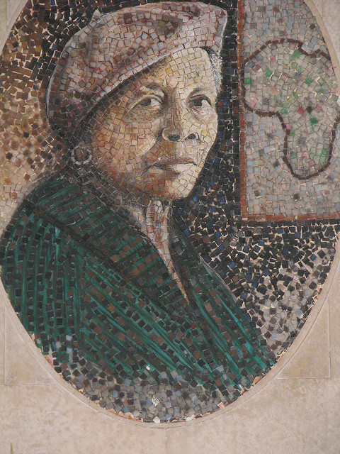 Margaret Burroughs Portrait in Mosaic by Thomas Hill via Sumi-I on Flickr