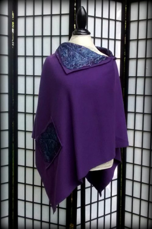 Purple Cape from Denise Shardlow