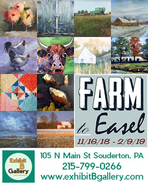 Farm to Easel at Exhibit B Gallery