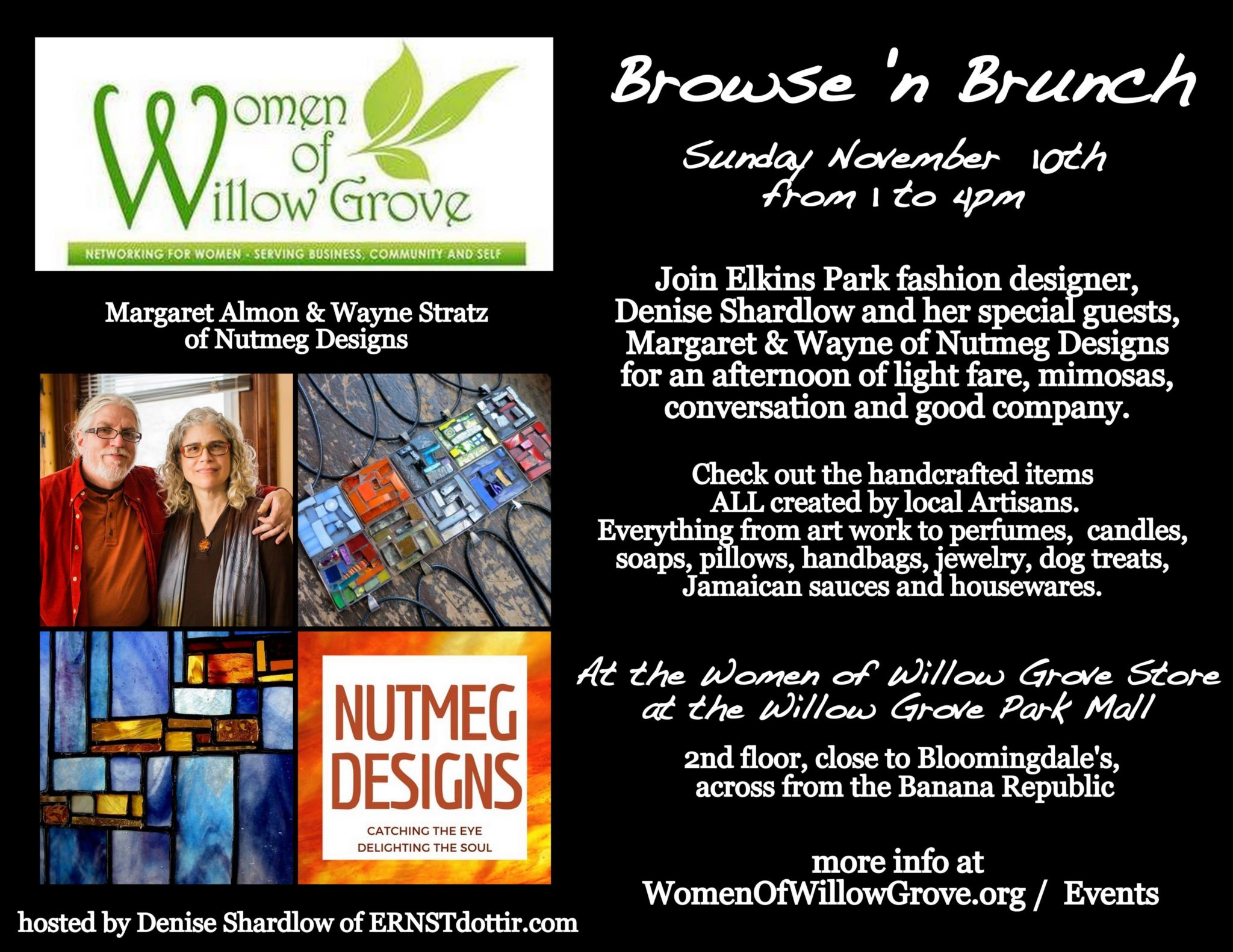 Browse & Brunch 11/10/19