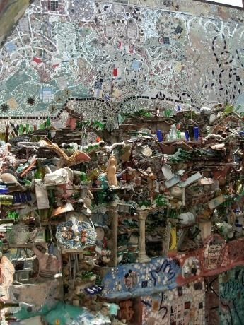 Magic Gardens, Isaiah Zagar, Philadelphia, PA. Photo by Margaret Almon.