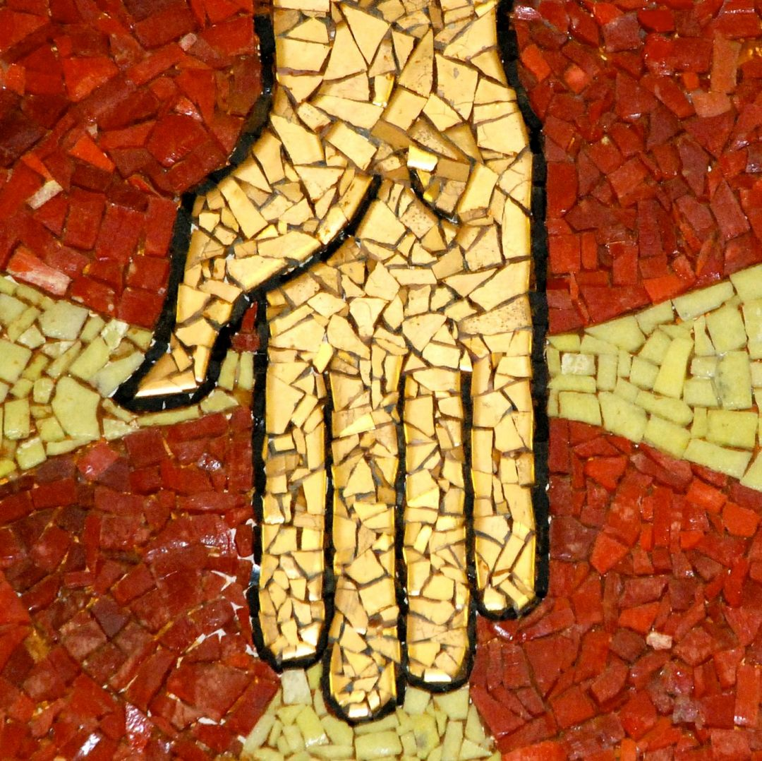 Hand Mosaic St. Timothy's Lutheran in El Paso, TX