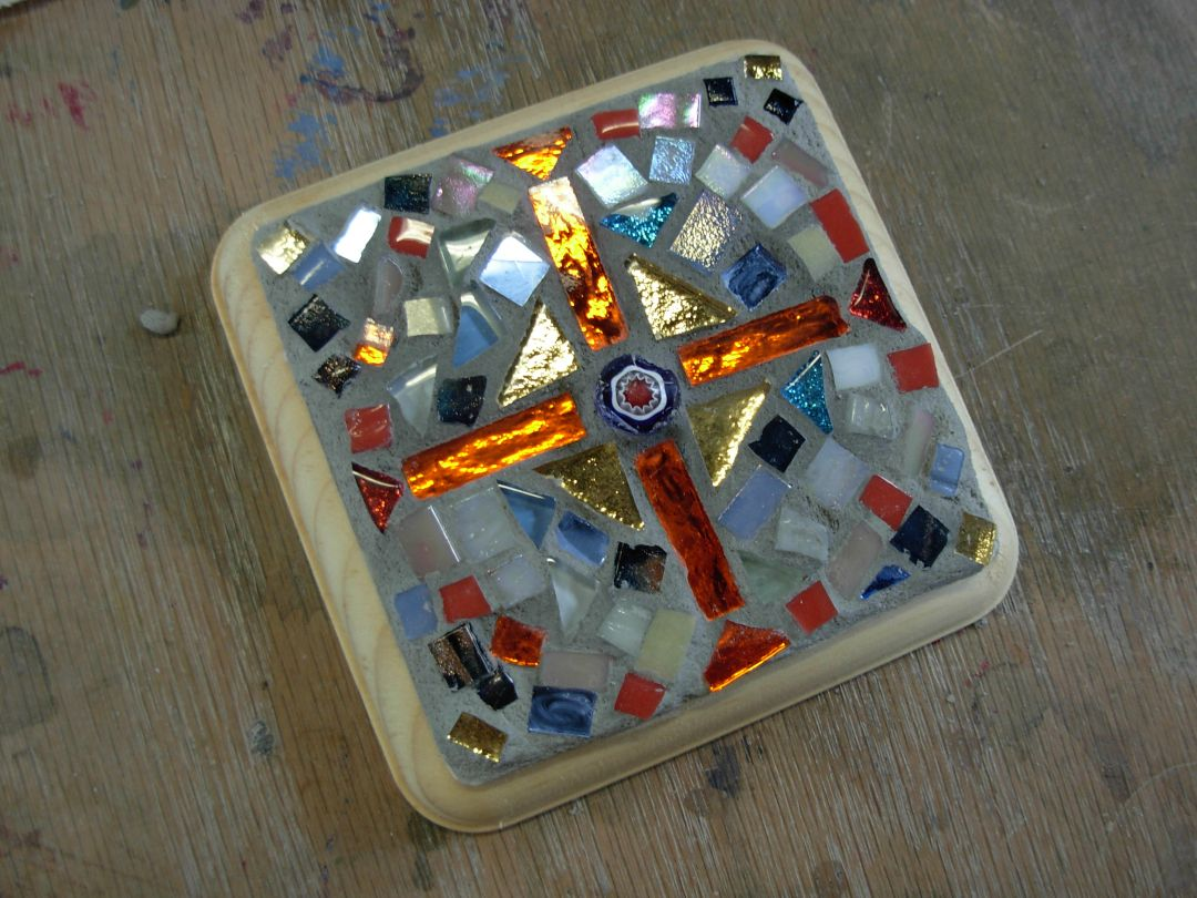 Mosaic Cross by Cindy
