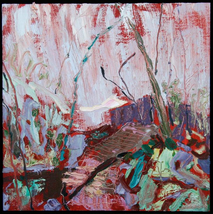 Footbridge by Helen Mirkil